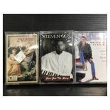 Three sealed cassettes