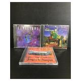 Trio of assorted sealed CDs