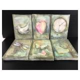 Set of 6 inspirational art canvases