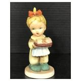 Grant Crest hand-painted porcelain figurine