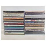 Collection of country music CDs