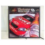 Budweiser racing light up sign