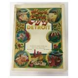 Meet, Eat, & Enjoy Detroit vintage book