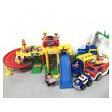 Fisher Price ramp/garage plus others collection