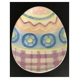 Fitz & Floyd ceramic Eggscapades dish
