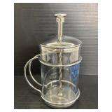 Vintage Speedy Cream Pyrex kitchen mixer/press