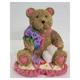 Morley candy makers resin teddy bear