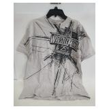 Authentic WWE double sided wrestle mania t-shirt