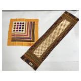 Schiaparelli and Paoli abstract fashion scarves