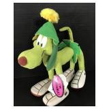 Vintage Looney Tunes bendable space dog plush