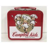 1998 Campbell Kids small metal lunchbox