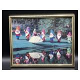 Vintage Snow White & the Seven Dwarves photograph