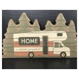 Primitives by Kathy wood RV home sign