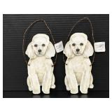 Primitives by Kathy small small poodle dog hangers