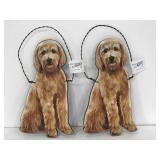 Primitives by Kathy goldendoodle wall hangers