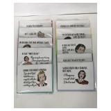 Collection of 10 Mad Padder greeting cards