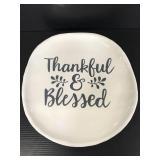 "LTD Commodities ""Thankful & Blessed"" platter"