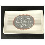 "Primitives by Kathy ""Dear God"" trinket tray"