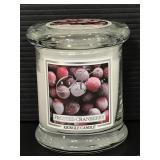 New Kringle frosted cranberry candle