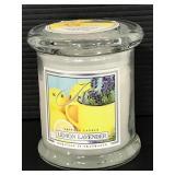 New Kringle lemon lavender candle