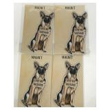 Primitives by Kathy new German Shepard magnets