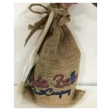 Dixie Belle drop cloth gift bag with best dang wax