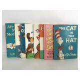 Lot of 8 vintage Dr. Seuss hardcover books