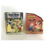 Vintage Snow White & Old MacDonald pop-up books