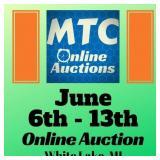 MTC June 6th - 13th Online Auction