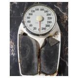 Old vintage Health-o-meter scale