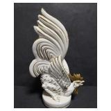Lefton white rooster