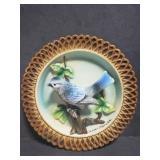 Tilso Jasper, Florida bird display plate