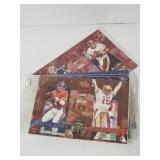 Sealed Super Bowl Showdown trading cards