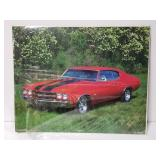 Vintage Chevy Chevelle poster