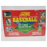 Sealed 1992 MLB card collector set