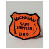 Michigan safe hunter shield patch