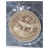 Sealed Marshall Islands commemorative $5 coin