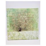 Large canvas tree art