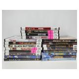 Collection of 20 DVDs