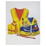 Adult and youth life jacket pair