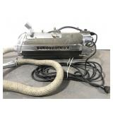 Old working Electrolux atomic age vacuum cleaner