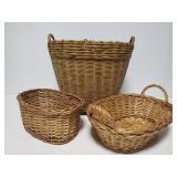 Basket trio