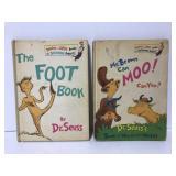 Two vintage Dr Seuss books