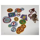 Boy scouts patch collection