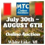 MTC July 30th - AUGUST 6TH Online Auction