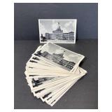 Lot of Lansing, MI capitol building postcards