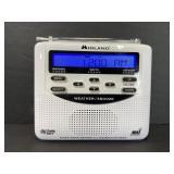 Midland battery weather/hazard alert radio