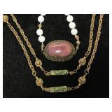 Vintage necklace pair