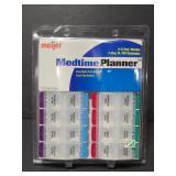 New Meijer Medtime Planner pill organizer