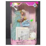 Vintage 1995 Barbie as Rapunzel w/ accessories